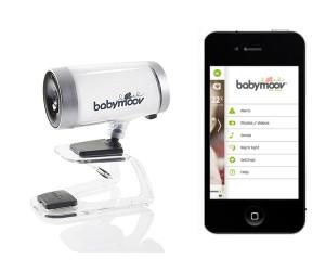 systeme de surveillance bebe iphone